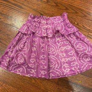 Crewcuts Purple and white skirt..